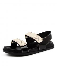 ELSA FOOTBED BLACK