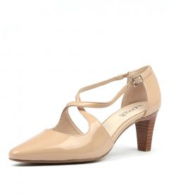 MARNEE NUDE PATENT LEATHER