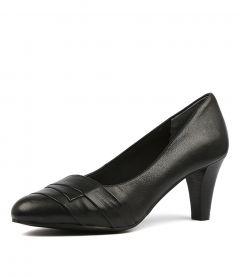 Janina Black Leather