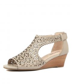 KATTINA PALE TAUPE LEATHER