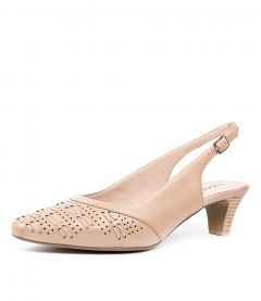 LAVETA NUDE LEATHER
