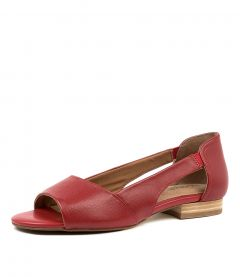 ELLY RED LEATHER