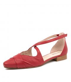 LAVEDA RED LEATHER