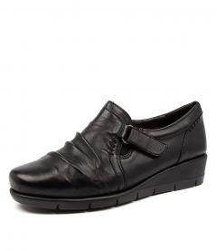 Milton Black Leather