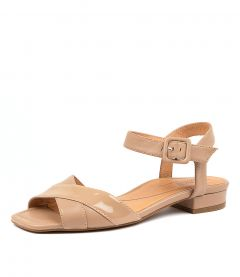 IMAN NUDE PATENT-LEATHER