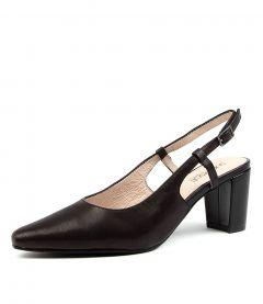 Marsfield Black Leather