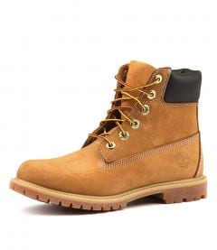 6 PREMIUM ICON BOOT WOMEN'S WHEAT NUBUCK