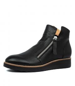 OHMY BLACK BLACK SOLE LEATHER