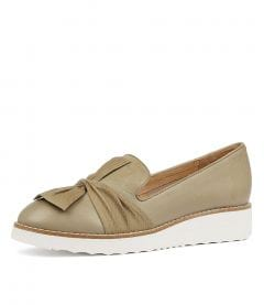 OCLEM KHAKI LEATHER