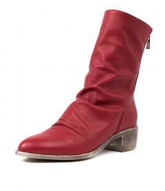 JOETTE RED LEATHER