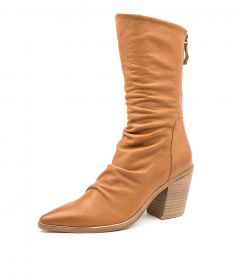 MIKETTE TO DK TAN LEATHER