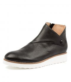 OSMAN TO BLACK WHITE SOLE LEATHER