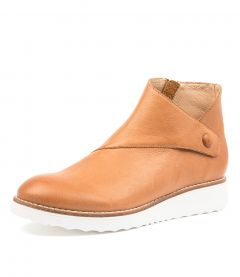 OSMAN TO DK TAN WHITE SOLE LEATHER