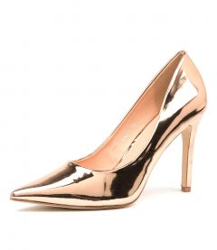 HAROLD II VE ROSE GOLD MIRRO PATENT SYNTHETIC