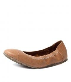 AVA BALLET TAN LEATHER