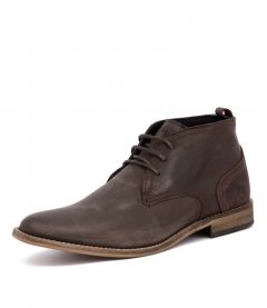 CHISM DARK BROWN LEATHER
