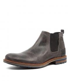 WATSON DARK GREY LEATHER