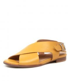 TOSCA W MUSTARD-LEATHER