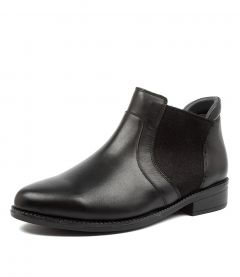 STACEY XF ZR BLACK LEATHER