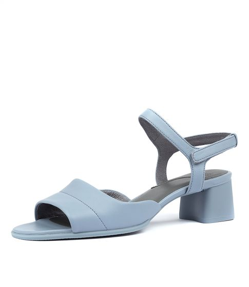 katie heeled sandal blue