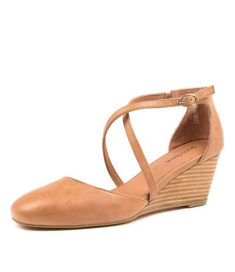 Leorah Df Nude Leather by Diana Ferrari