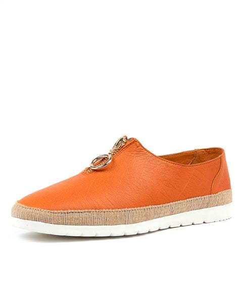 VASSIE ORANGE LEATHER