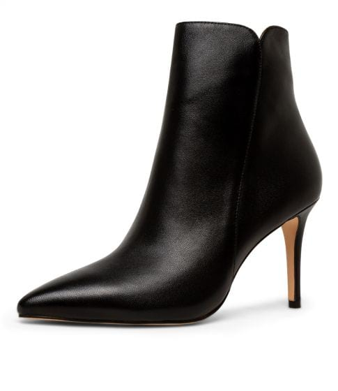 Buy MOLLINI Kianiss Black Leather Ankle Boots online with free shipping