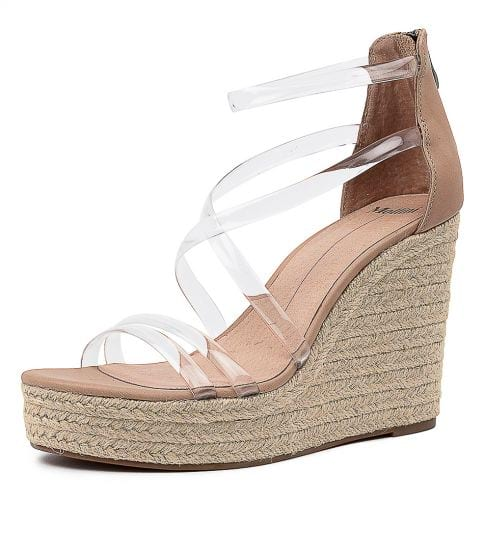 Kbaby Mo Clear Nude Vinylite Leathe by Mollini