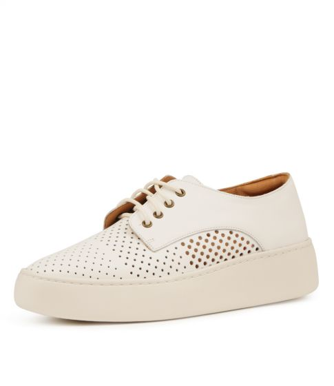 DERBY CITY PUNCH WHITE LEATHER