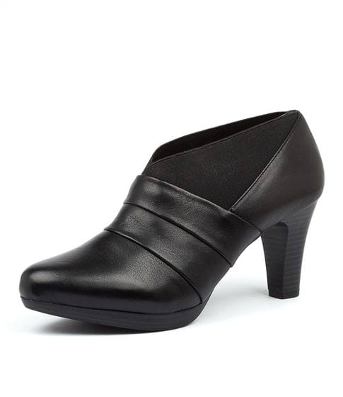 Buy SUPERSOFT Sargood Su Black Leather Ankle Boots online with free shipping