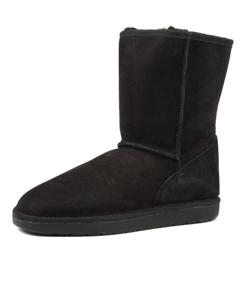 Tidal Long Ugg Boots (Black)