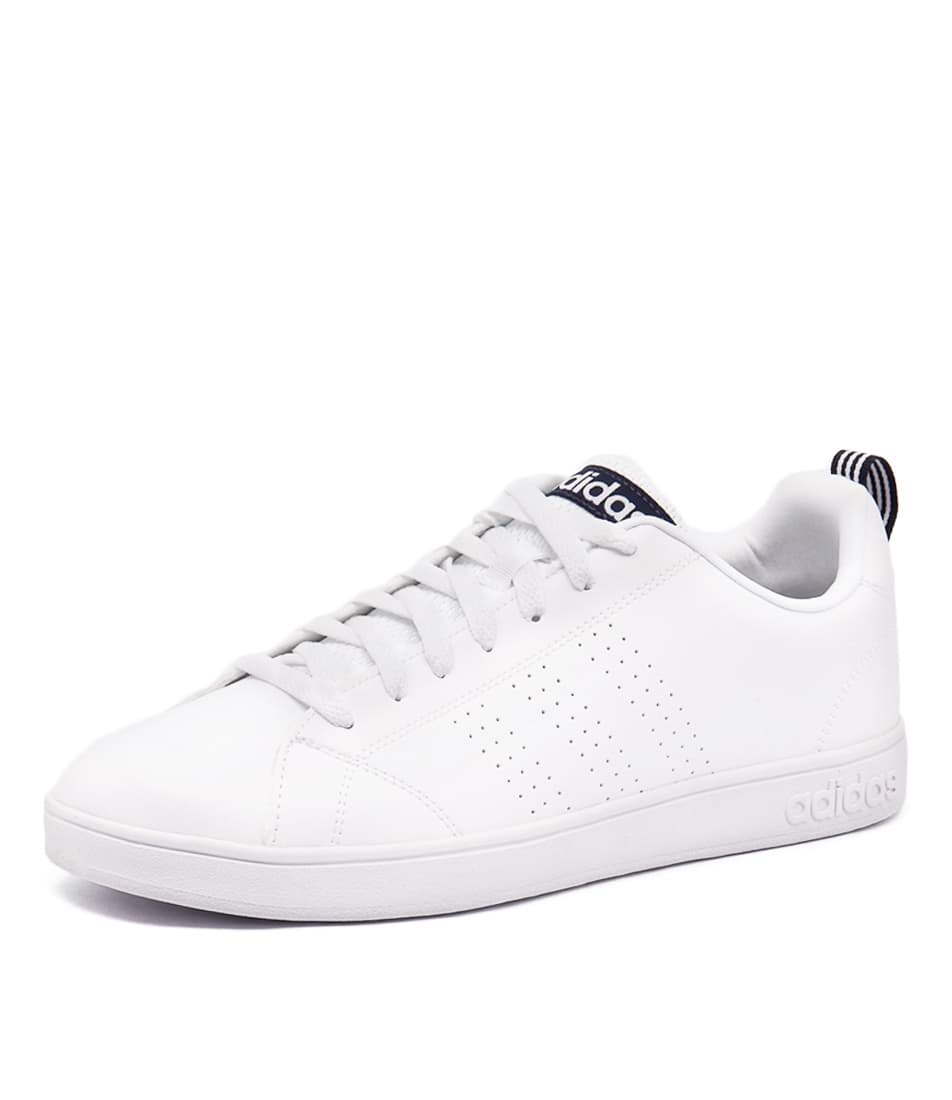 new arrival d6e56 3ca3a ADVANTAGE CLEAN VS WHITE WHITE NAV SMOOTH by ADIDAS NEO - at Styletread