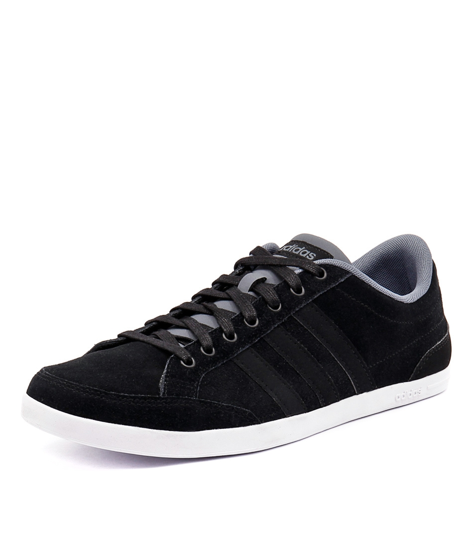 cheap for discount 3a278 e89aa CAFLAIRE BLACK BLACK LEA SUEDE by ADIDAS NEO - at Styletread