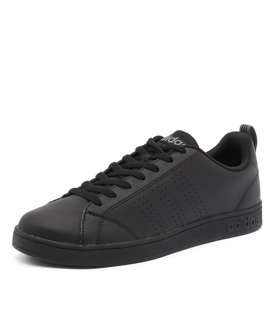 taille 40 bf4a3 ac1e3 advantage clean vs black black lea smooth