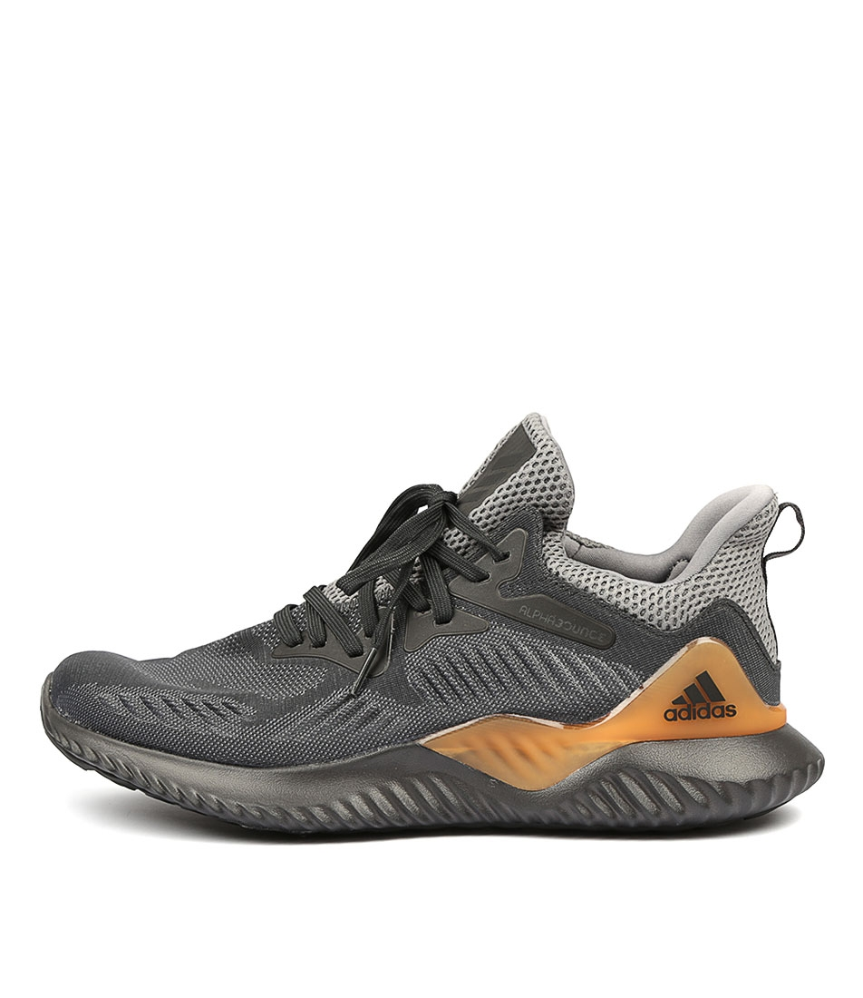 996832cc69656 ALPHABOUNCE BEYOND MEN'S GREY CARBON GRE SMOOTH by ADIDAS NEO - at ...