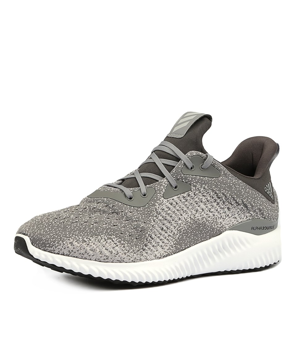 best service 1ab48 f9bef ALPHABOUNCE EM GREY GREY SOLID SMOOTH by ADIDAS NEO - at Styletread
