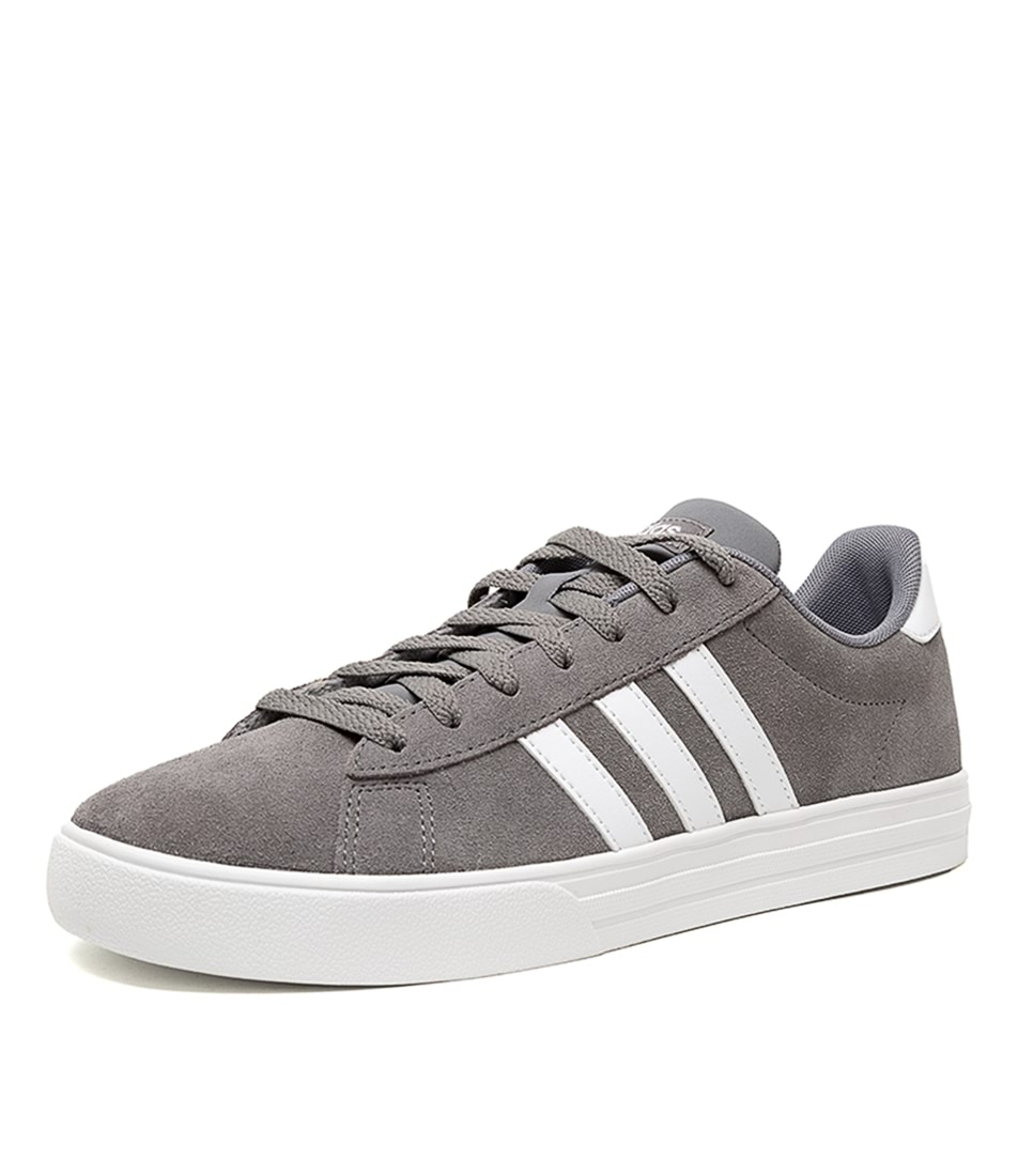buy popular b92d4 bd38c DAILY 2.0 GREY WHITE SMOOTH by ADIDAS NEO - at Styletread