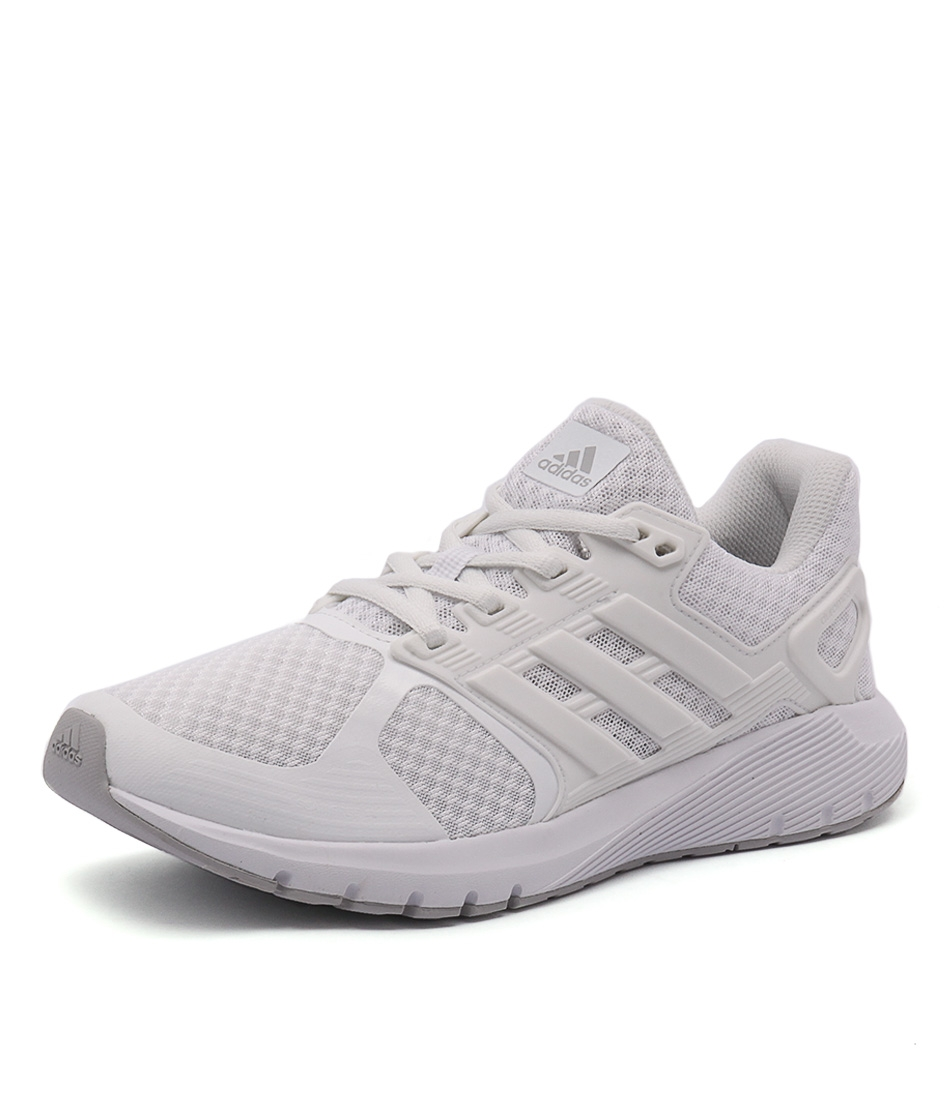 save off 8eb95 044bb DURAMO 8 WHITE WHITE GRE FABRIC by ADIDAS PERFORMANCE - at Styletread
