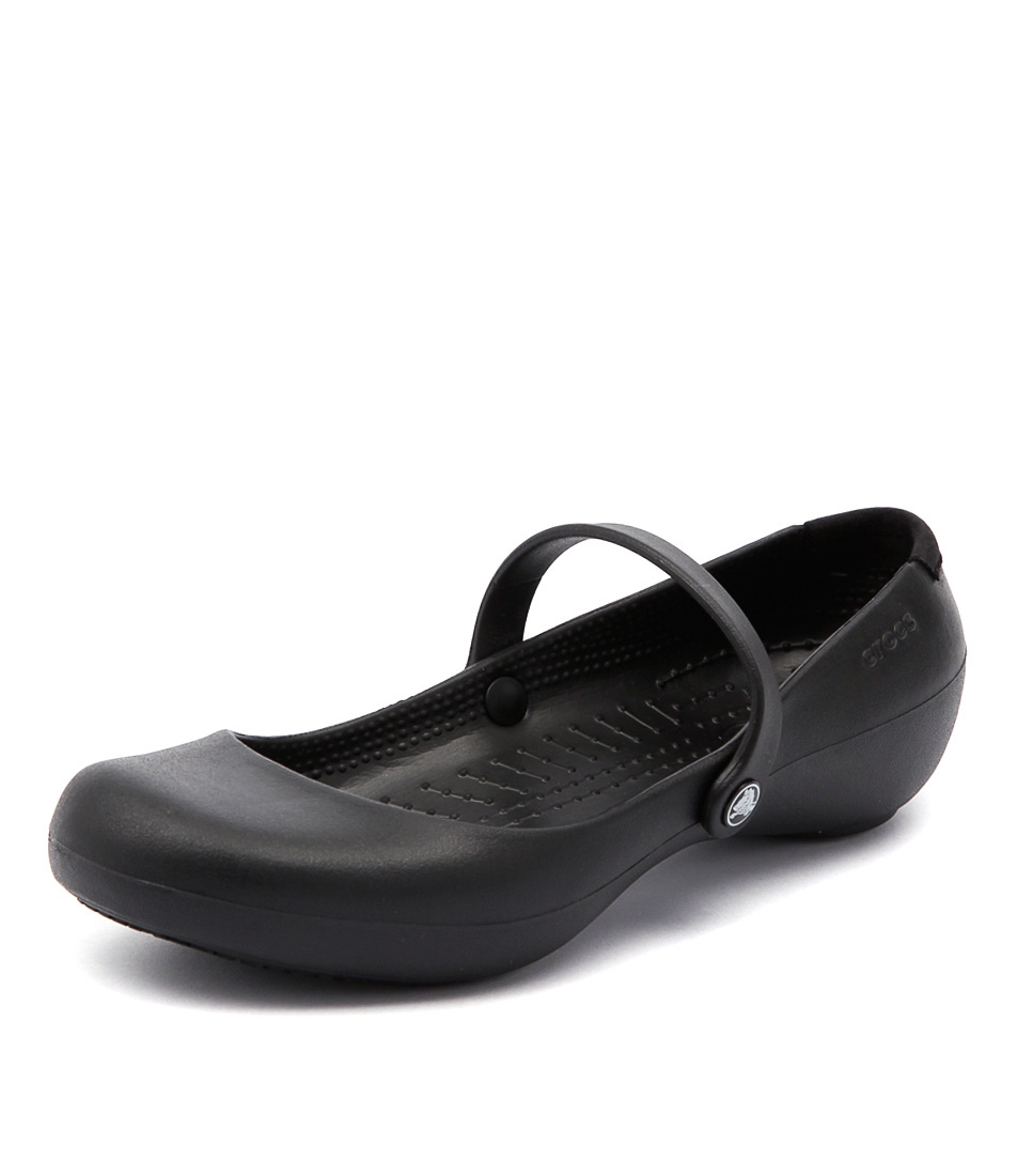 fa01f45ede365 ALICE WORK BLACK SMOOTH by CROCS - at Styletread