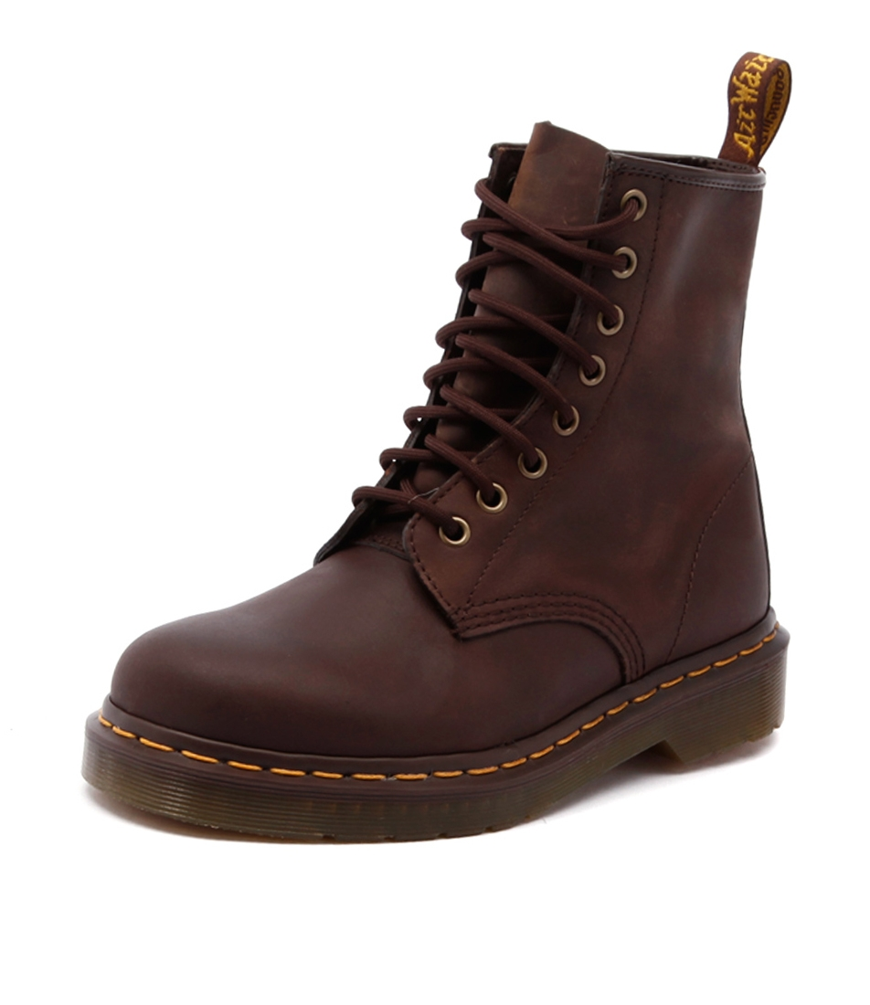 43cfab23d 1460 8 EYE BOOT GAUCHO CRAZYHORSE LEAT by DR MARTEN - at Styletread