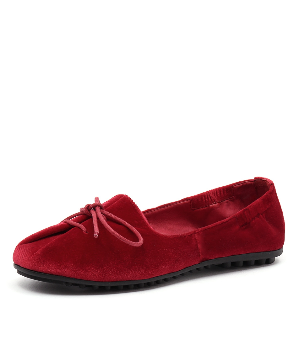 465e983f5f BAXTER RED VELVET by I LOVE BILLY - at Styletread
