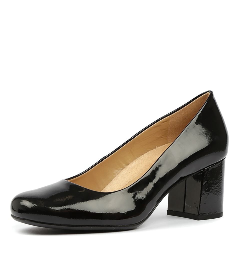 f163f75b6 WHITNEY N BLACK PATENT LEATHER by NATURALIZER - at Styletread