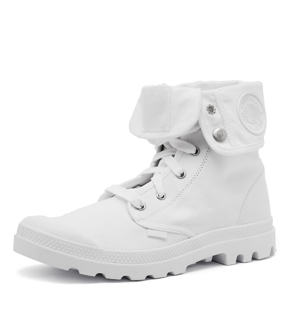 71712673e BAGGY WHITE WHITE CANVAS by PALLADIUM - at Styletread