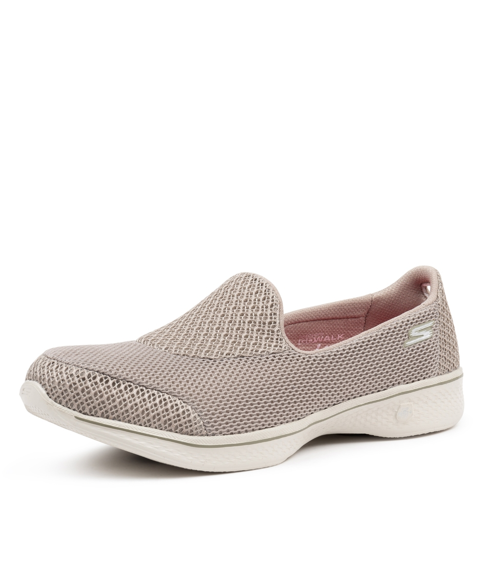 991fe55316a3 14170 GO WALK 4 PROPEL TAUPE SMOOTH by SKECHERS - at Styletread