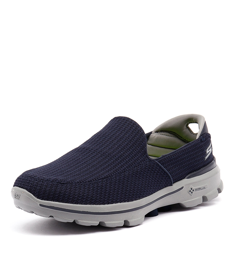 skechers on the go navy