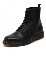 1460 8 EYE BOOT MEN'S BLACK LEATHER
