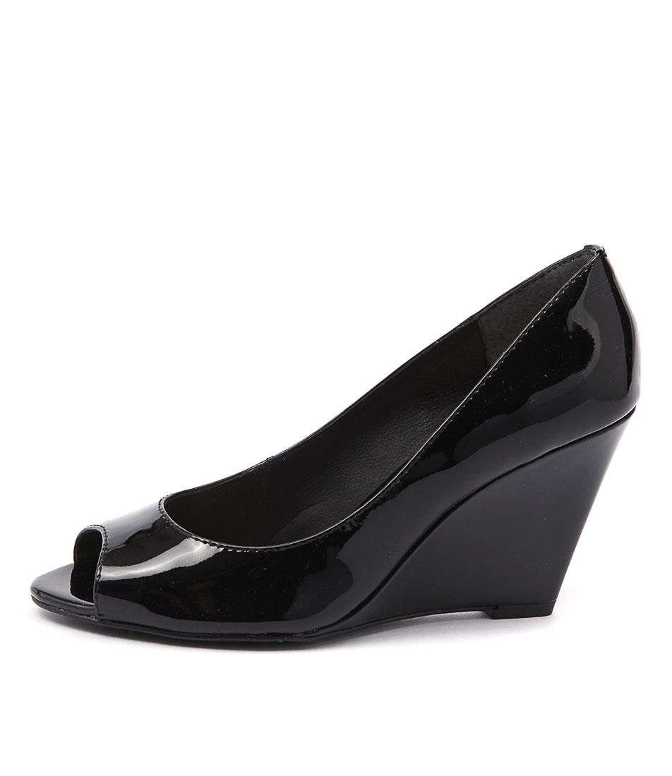 Diana Ferrari Chaplin Black Dress Heeled Shoes