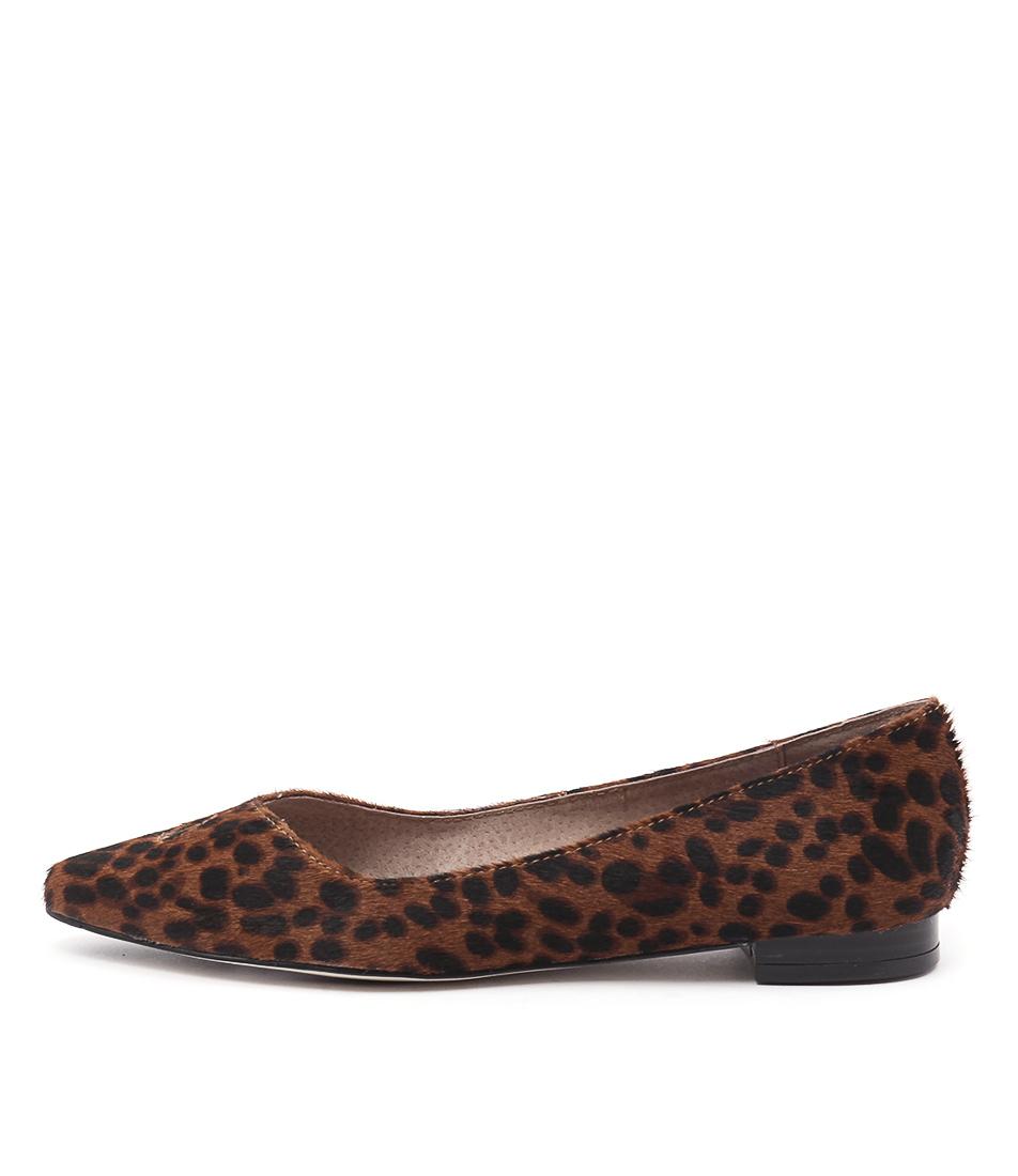 Diana Ferrari Cersai Leopard Flat Shoes