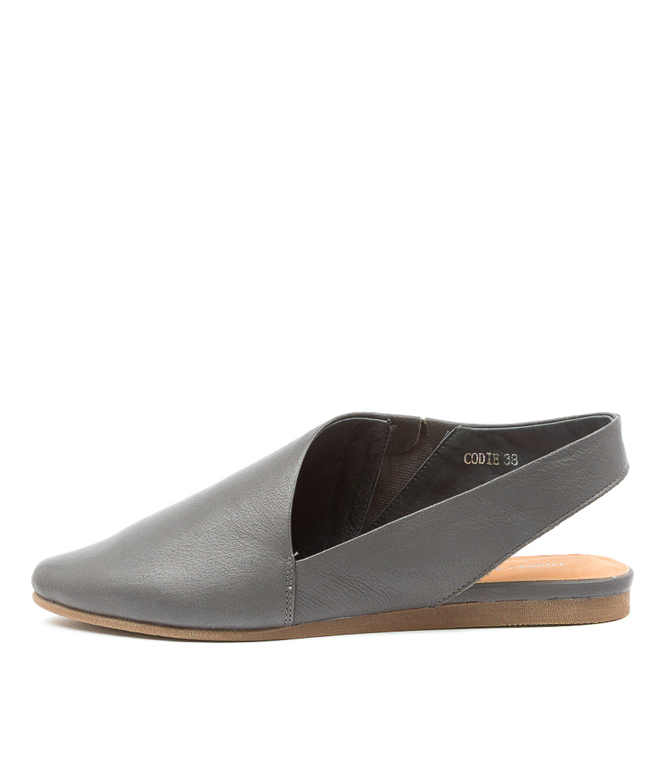 Buy Django & Juliette Codie Dk Grey Flats online with free shipping