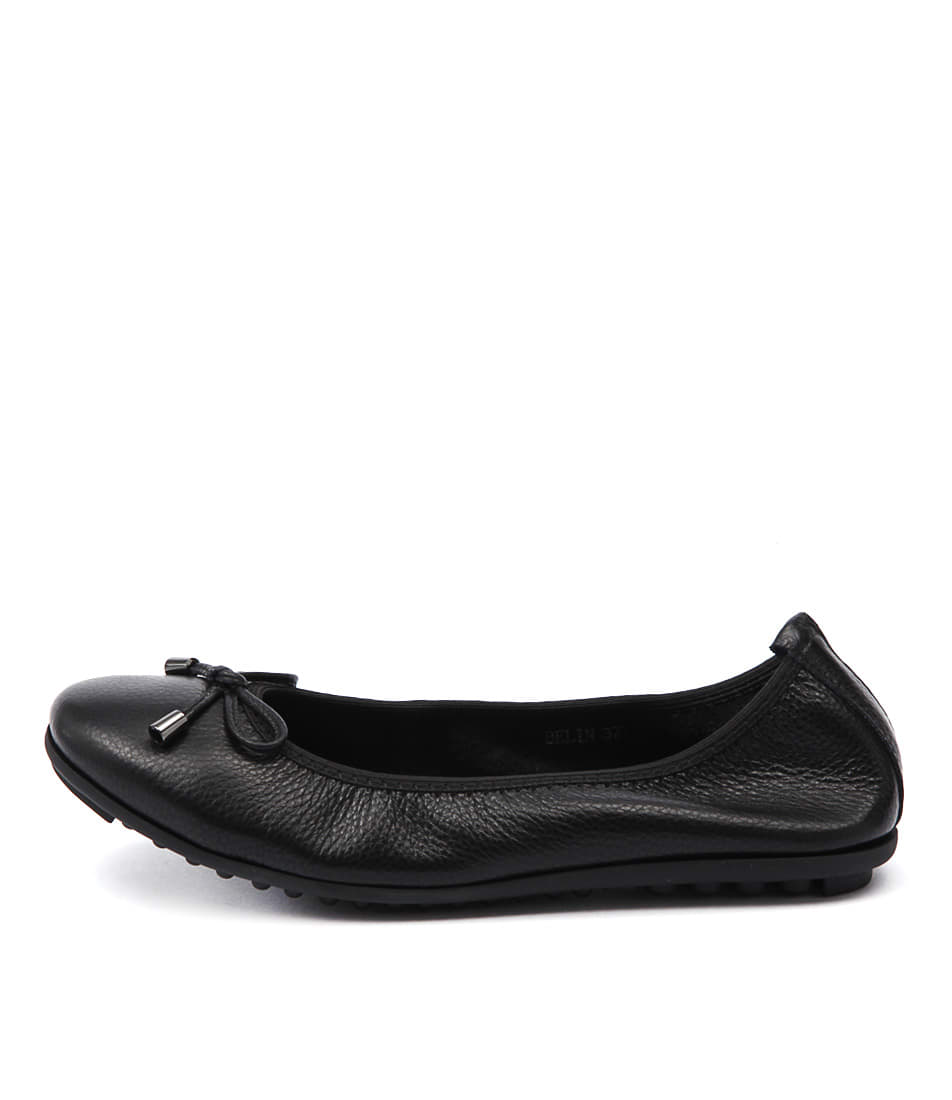 Buy Django & Juliette Belin Black Flats online with free shipping